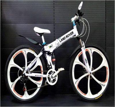 Велосипед LAND ROVER на литых дисках