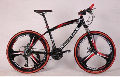 Велосипед MERCEDES-BENZ на литых дисках