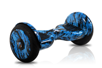 Smart Balance sport PREMIUM 10.5, защита от возгорания АКБ  (синий огонь)