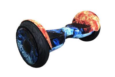 Smart Balance sport PREMIUM 10.5, защита от возгорания АКБ   (сине-красный огонь )
