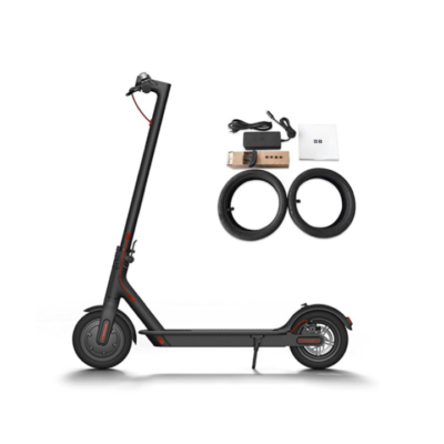Электросамокат Xiaomi Mijia Electric Scooter M365  (Черный, Белый)